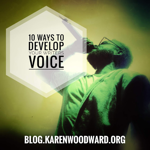 10 Ways to Develop Your Writer's Voice