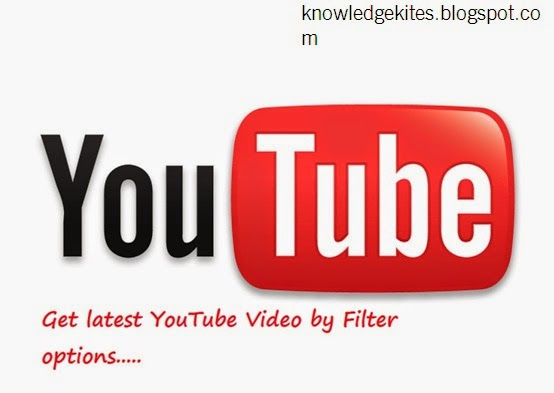 How to get latest YouTube Video by Filter
