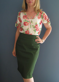 Burda Jenny Skirt