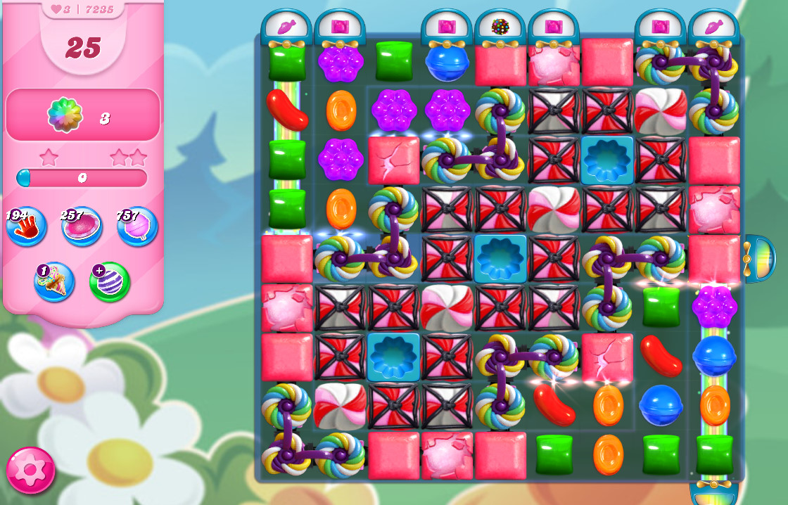 Candy Crush Saga level 7235
