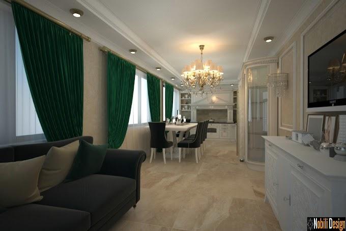 Amenajare interioară a unei case in stil modern