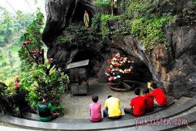 gua maria karmel lembang