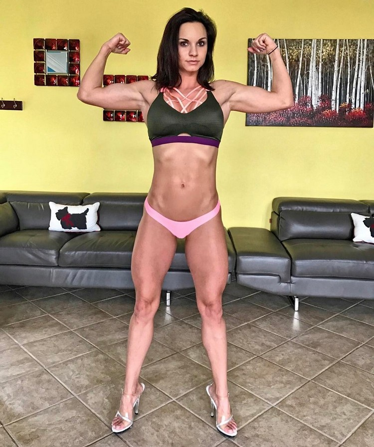 Bikini Fitness Model Christy Ann