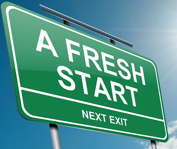 Allow yourself to have a fresh start
