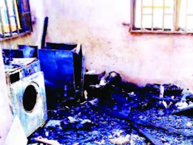 Teenager kills landlord. Report self to police