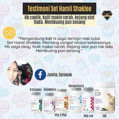 Promosi Set Hamil Shaklee