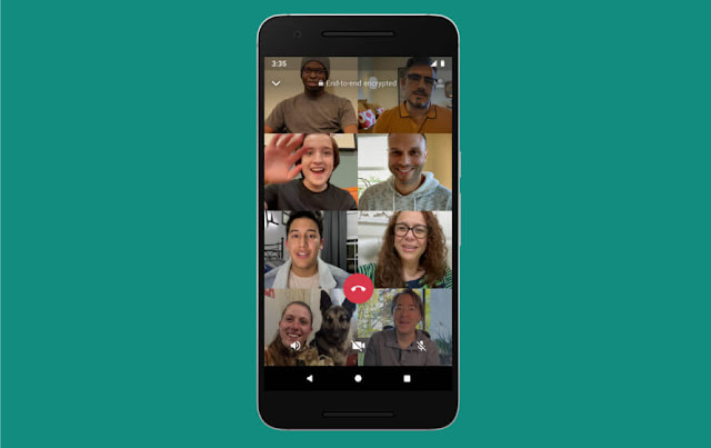 WhatsApp Supports 8 Participants For Group Video And Voice Calls