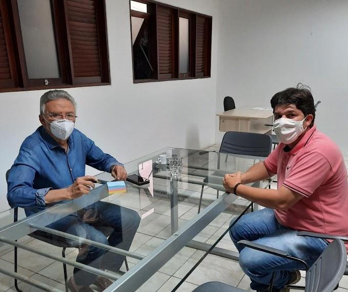 Fagner volta a se reunir com Zé Queiroz em Caruaru, desde inicio da pandemia