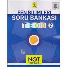 Not Yayınları 8.Sınıf TEOG 2 Fen Bilimleri Soru Bankası (2016)