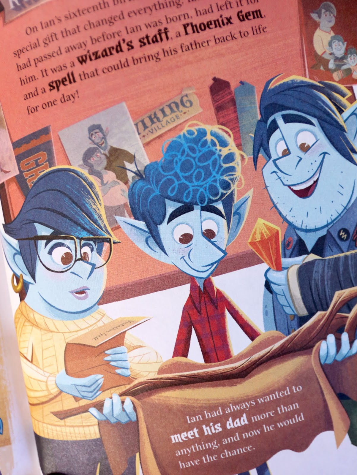 Disney·Pixar Onward Little Golden Book Review