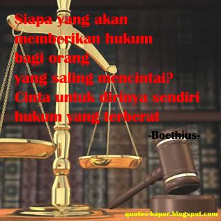 kumpulan kata kata bijak hukum bagi orang yang saling mencintai