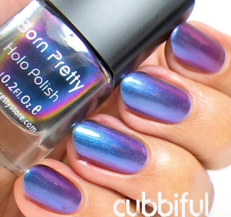 Born Pretty Chameleon No.217 Swatch and Review