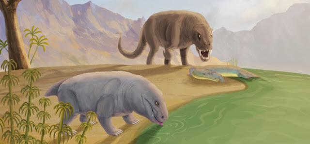 Unusual tusks in a new species of dicynodont from the Permian of Brazil
