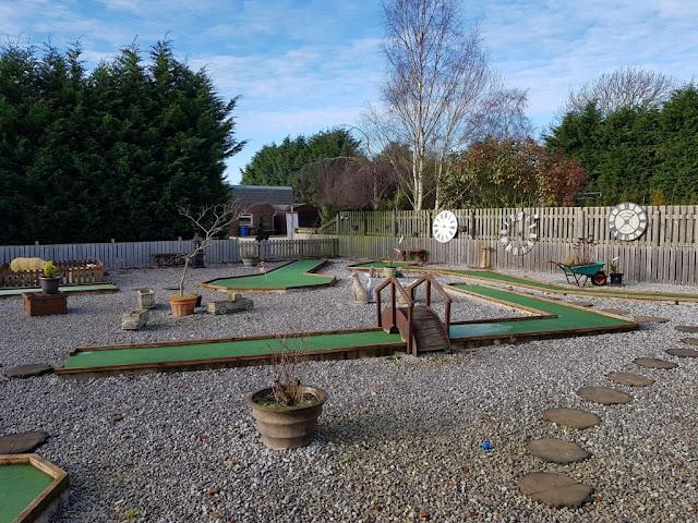 Crazy Golf at Sunnybank Gardens in Hatfield, Doncaster