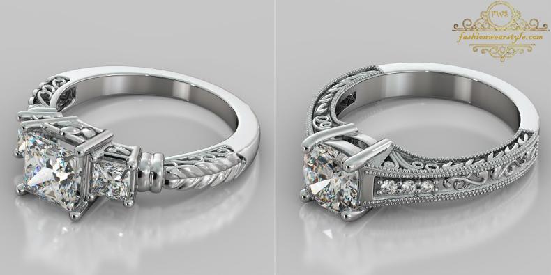 Agape Diamond Rings Collection www.fashionwearstyle.com