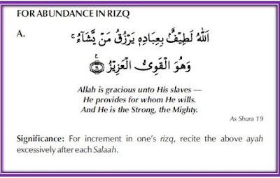 Dua for Increase in Rizq