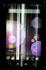 Cara Mengatasi Layar LCD Hp Android Yang Bergaris, Goyang, dan Belur
