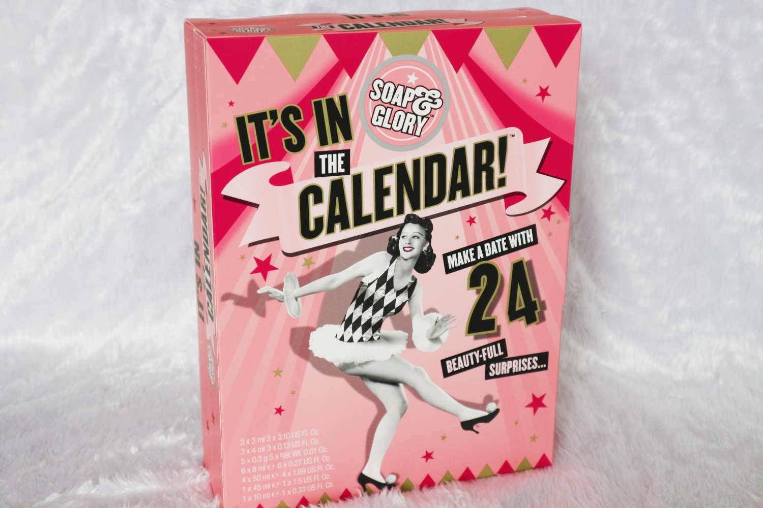 soap and glory advent calendar