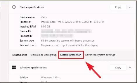 Cara Membuat System Restore Point di Windows 11 PC-1
