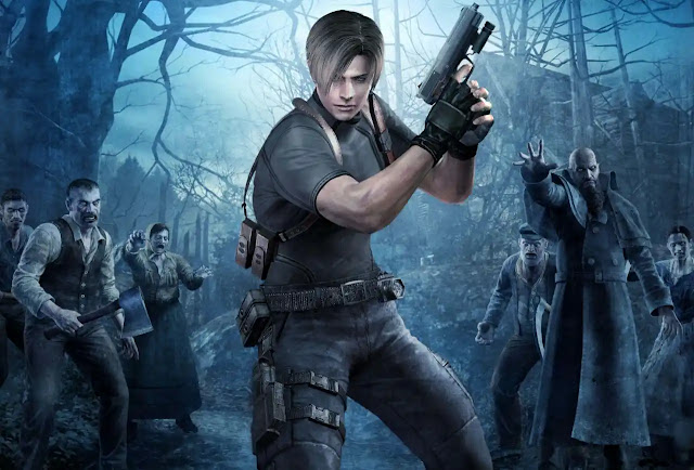 Resident Evil 4 (2005) best zombie games, best zombie survival games, the best zombie game,zombie games and best zombie games ever.