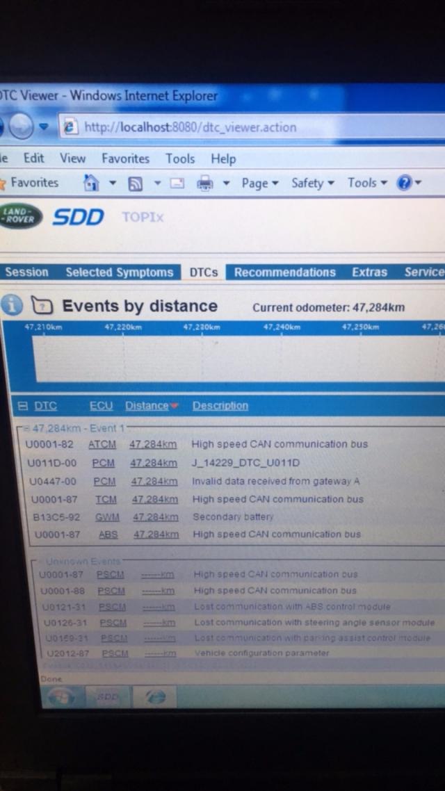 OBD2 Tools On OBD2shop co uk: Crack JLR SDD V158 software