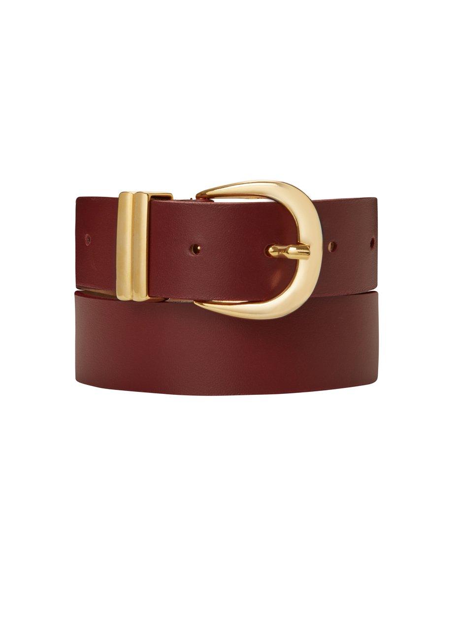 baukjen signature belt gold buckle