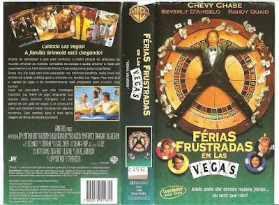 Filme Férias Frustradas em Las Vegas (Vegas Vacation) DVD Capa