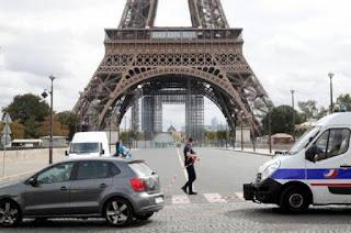 Prancis Makin Mencekam dengan Ancaman Bom dan Temuan Tas Berisi Amunisi