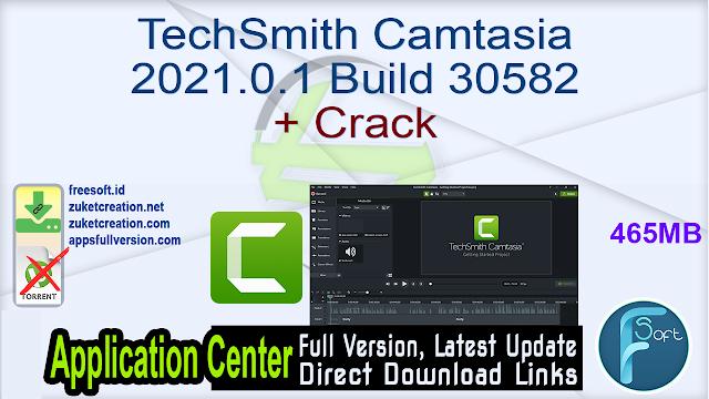 TechSmith Camtasia 2021.0.1 Build 30582 + Crack_ ZcTeam.id
