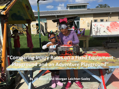 Playground With Hammers and Nails 4x Safer Than Playground with Swings and Slides