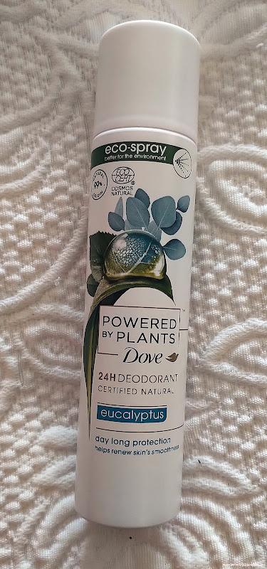 Dove Powered By Plants deodorant Eucalyptus