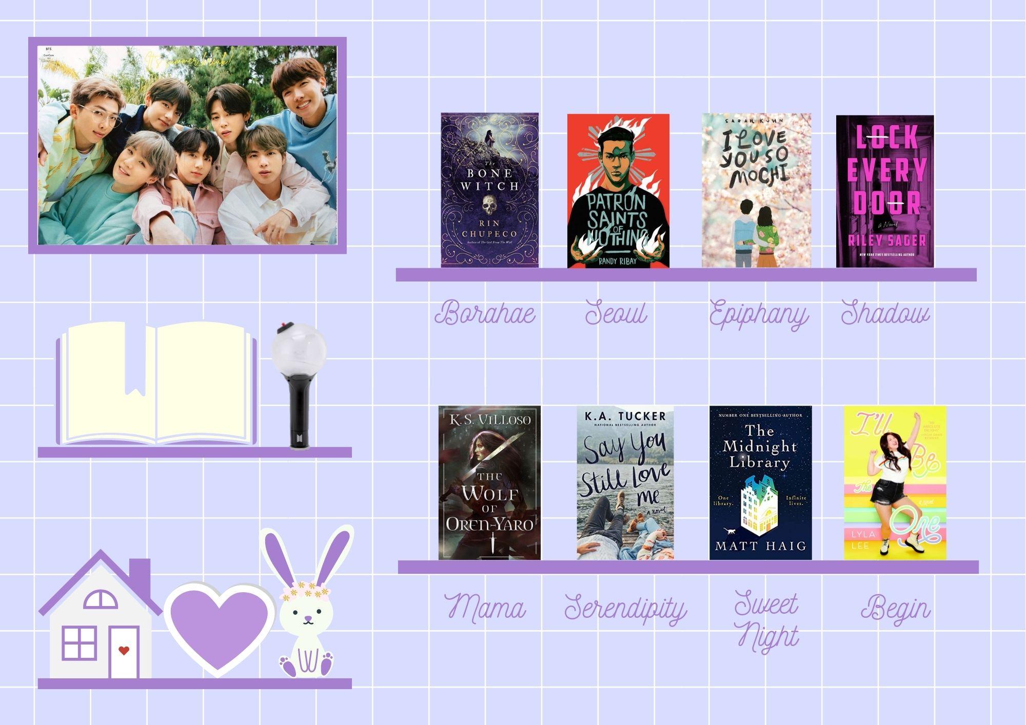 ARMYdathon 2021 - Bookshelf