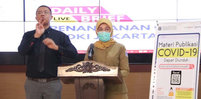 Hingga Selasa 19 Mei, 6.053 Orang Jakarta Positif Covid-19, 1.417 Pasien Dinyatakan Sembuh