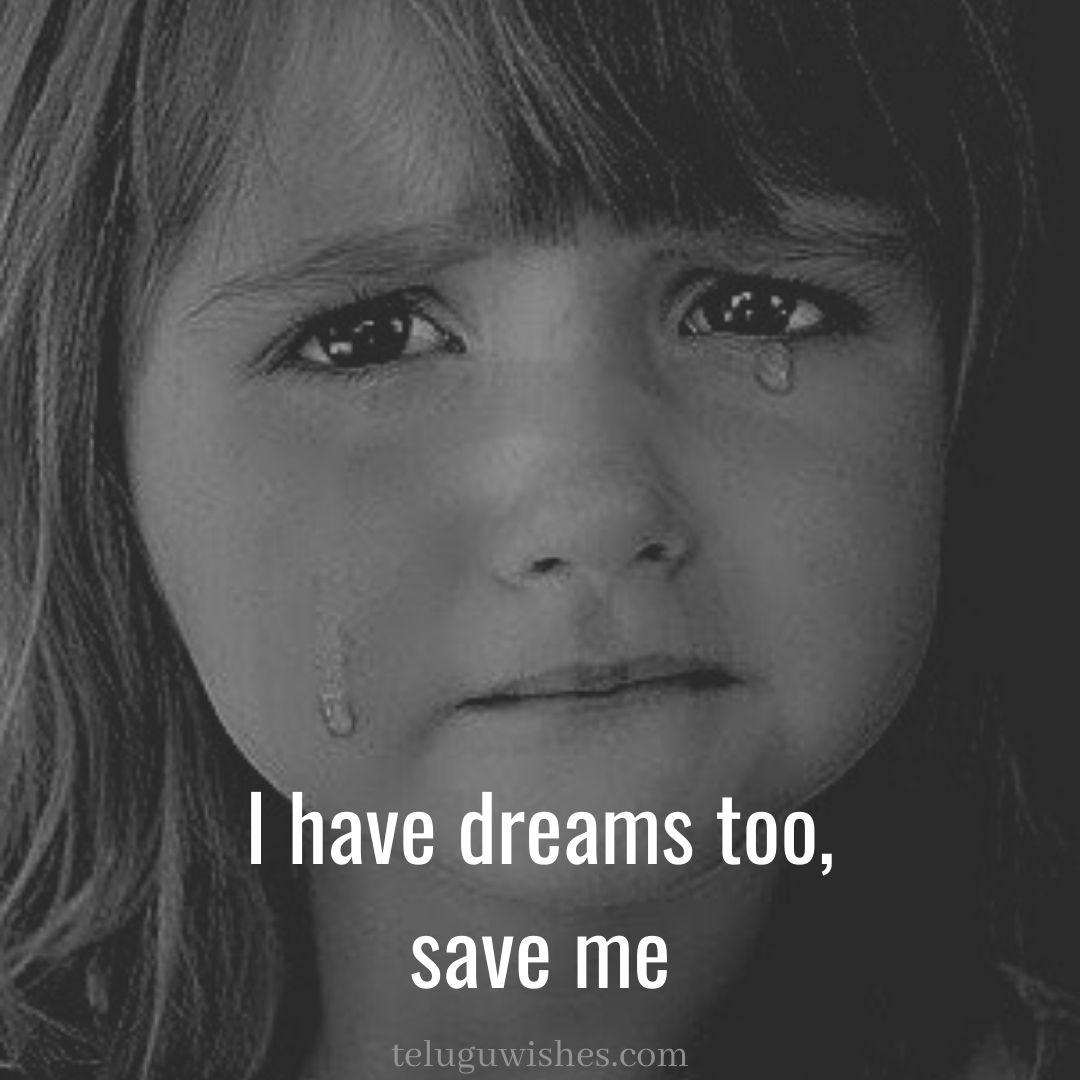 i have dreams too