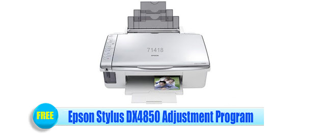 Epson Stylus DX4850 Adjustment Program