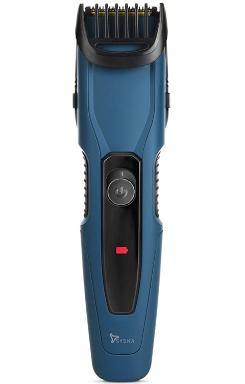 Syska HT1250 - Best beard focused corded and cordless trimmer for men.