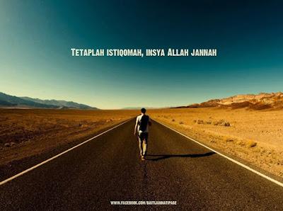 Image result for istiqamah
