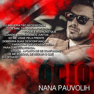 Livro Ódio - Nana Pauvolih