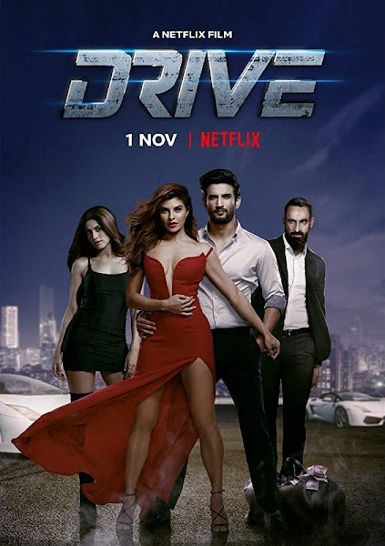 Poster of Drive (2019) Full Movie [Hindi-DD5.1] 720p HDRip ESubs Download