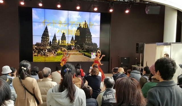 INDONESIA PROMOTES TOURISM AT THE 'ONE WORLD FESTIVAL' IN OSAKA