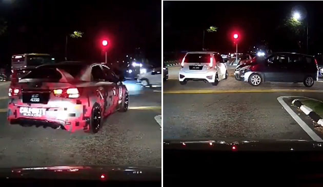 (Video) 'Mohon PDRM angkut geng besar kepala ni' - Geng konvoi kahwin sekat laluan undang kemarahan netizen