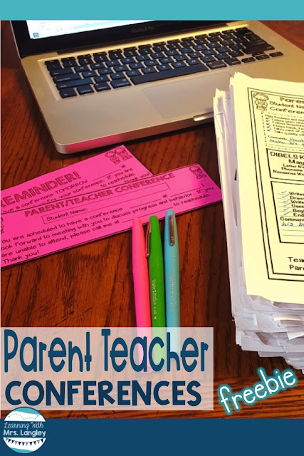 Parent Teacher Conferences are stressful to plan for and while I can not help you plan the perfect outfit or spruce up your room for you I can provide you with FREE forms and goodies to prepare for your kindergarten or first grade conferences. This free file provides forms for DIBELS reporting as well as blank and editable forms to customize for yourself. Reminders are included as well as forms for making appointments. #parentteacherconference #teacherhelp #kindergarten #firstgrade #DIBELS