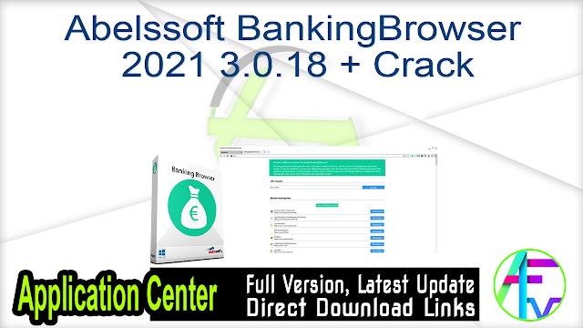 Abelssoft BankingBrowser 2021 3.0.18 + Crack