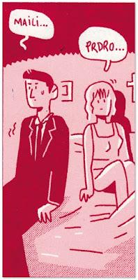 PRDRO Y MAILI de Álvaro Ortiz, edita Astiberri comic