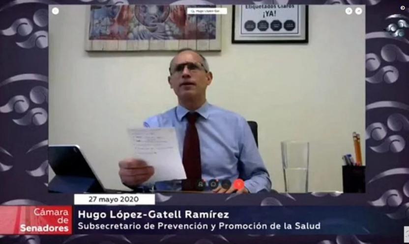 """Vídeo: López-Gatell se enfrenta a senadores y el PAN lo acusa de """"Violencia política de género"""", dicen que pedirán su renuncia"""