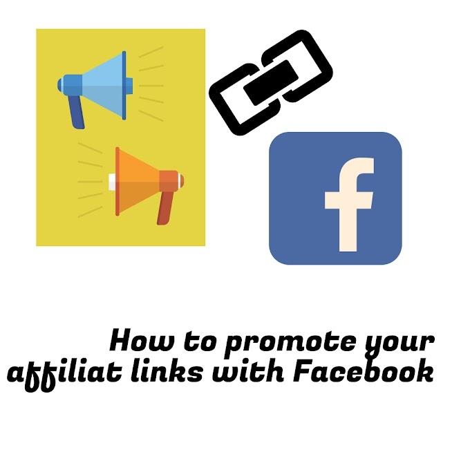 How to promote affliate links with facebook