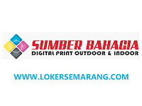 Lowongan Kerja Semarang Desain Grafis di CV Sumber Bahagia Printing