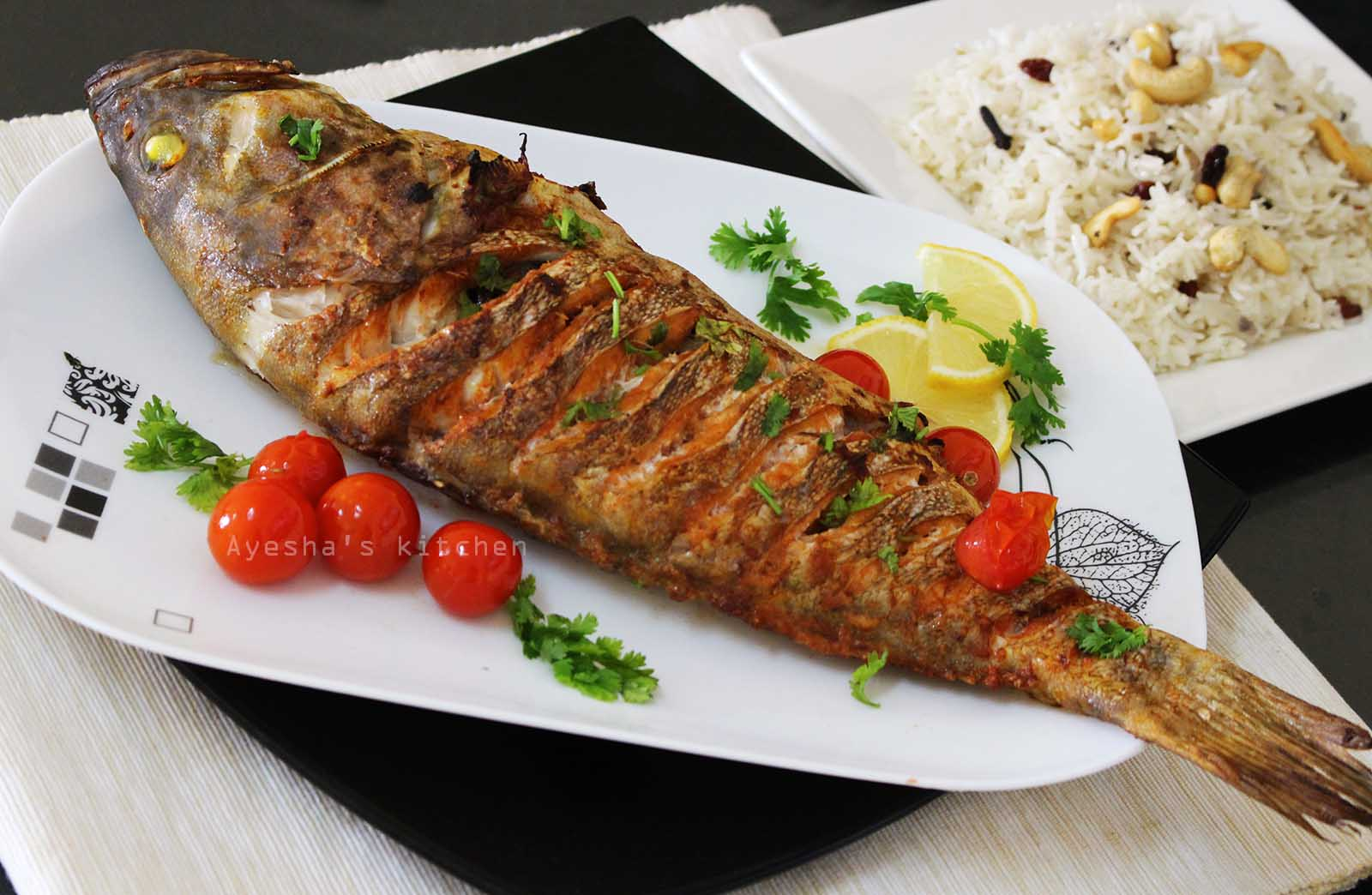 Grilled fish for The fish grill
