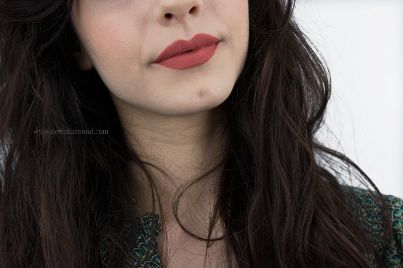 Kat Von D Lolita II liquid Lipstick swatch