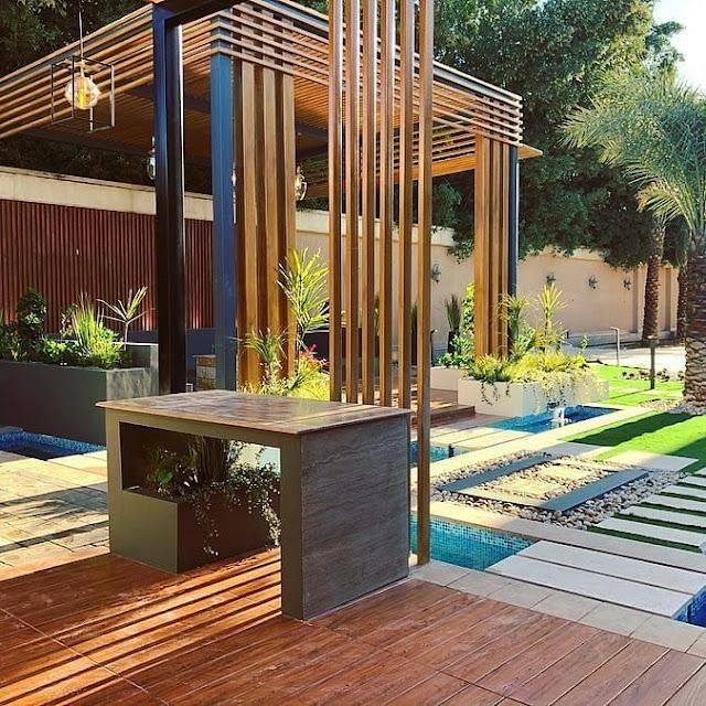 تركيب عشب ارضيات حدائق حوش